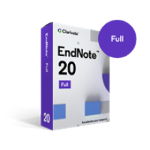EndNote 20 Full Download