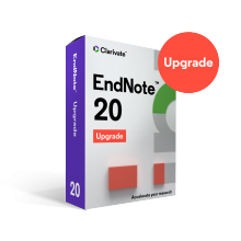 EndNote 20 Upgrade Download